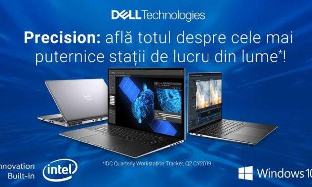 Webinar Dell Precision, despre cele mai puternice stații de lucru din lume