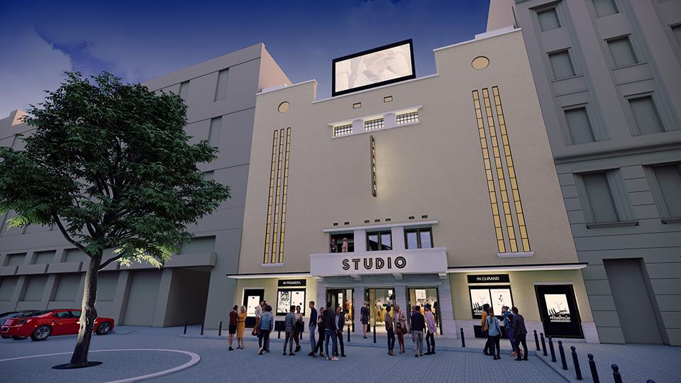 Atelier 21 a realizat proiectul arhitectural pentru renovarea Cinematografului Studio din Timișoara
