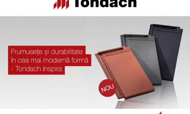 Tondach Inspira – tehnologie inovatoare Fusion pentru o culoare uniforma si durabila