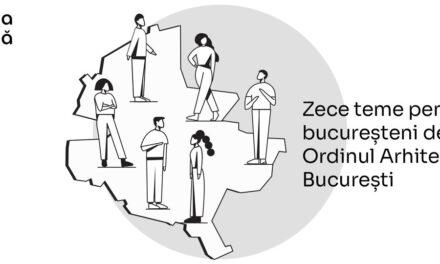 OAR București lansează o platformă de informare și dialog despre calitatea vieții și mediul construit din capitală