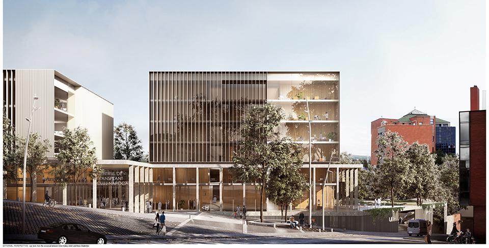 A fost anunțat câștigătorul Concursului Internațional de Soluții Arhitecturale pentru Centrul Integrat de Transplant Cluj-Napoca