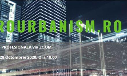 Dezbatere digitală EuroUrbanism: Arhitectura adaptivă și regenerativă – soluții pentru viitor