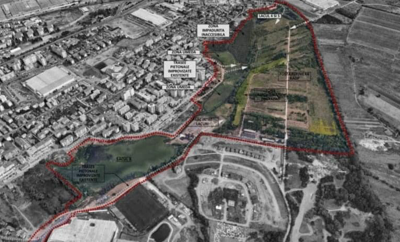 Concurs internaţional de soluţii pentru proiectarea unui parc din Cluj-Napoca, estimată la 6,2 milioane de lei