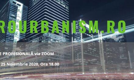 Au început înscrierile la cea de-a 5-a Dezbatere digitală EuroUrbanism: Low-tech și High-tech în abordările sustenabile pentru construcții