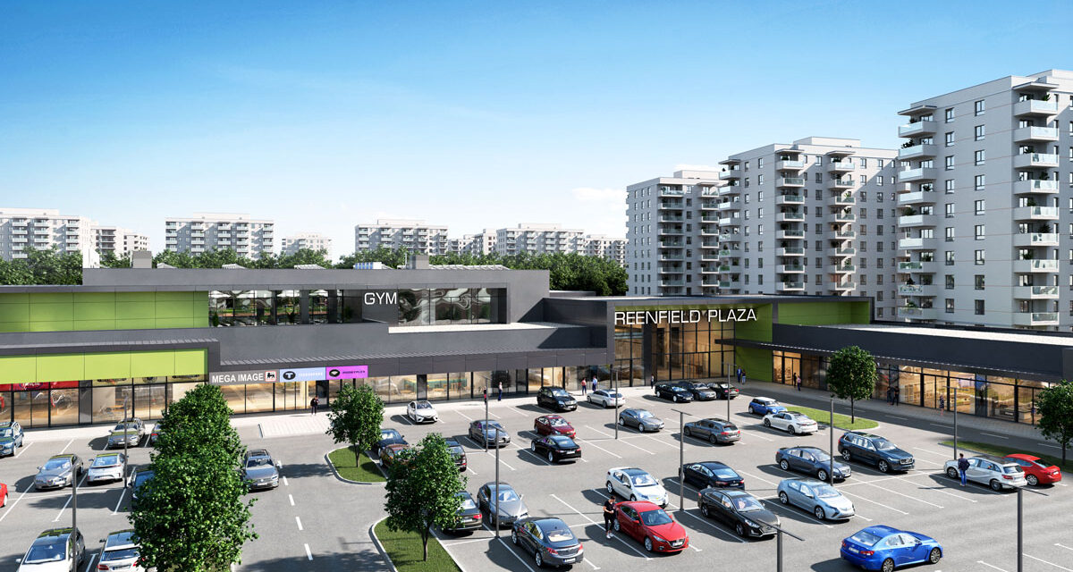 Impact Developer & Contractor a inceput constructia Greenfield Plaza, cel mai mare centru comunitar dintr-un ansamblu rezidential