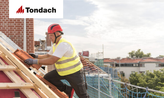 Al doilea pas în renovarea sau construcția acoperișului cu țiglă ceramică TONDACH!