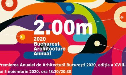 Festivitatea de Premiere a Anualei de Arhitectură București 2020, ediția a XVIII-a