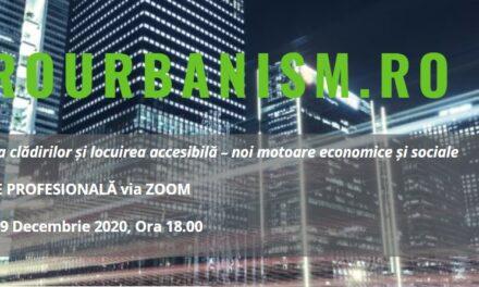 Reabilitarea clădirilor și locuirea accesibilă ca noi motoare economice și sociale – o nouă întâlnire a comunității profesionale de arhitectură și urbanism
