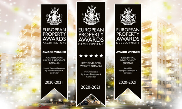 Impact Developer & Contractora câștigat 3 premii la International Property Awards