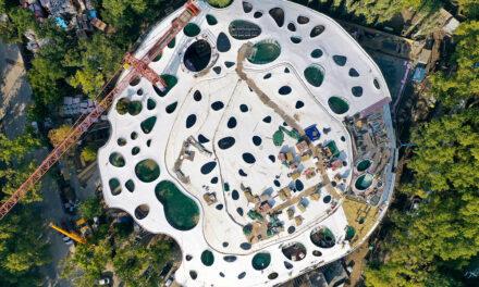 Casa Muzicii Maghiare de la Budapesta, proiectată de Sou Fujimoto, este aproape finalizată