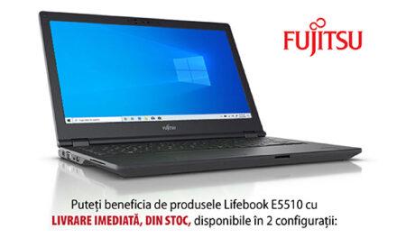 Laptopuri FUJITSU LIFEBOOK E5510, disponibile din stoc, pentru profesioniștii din educație