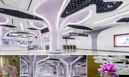 Stații futuriste pentru prima linie de metrou complet automatizată