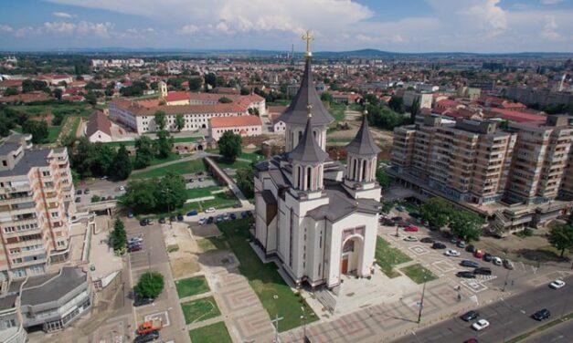 Descărcare arheologică în centrul municipiului Oradea, pe şantierul viitoarei parcări subterane din Centrul civic