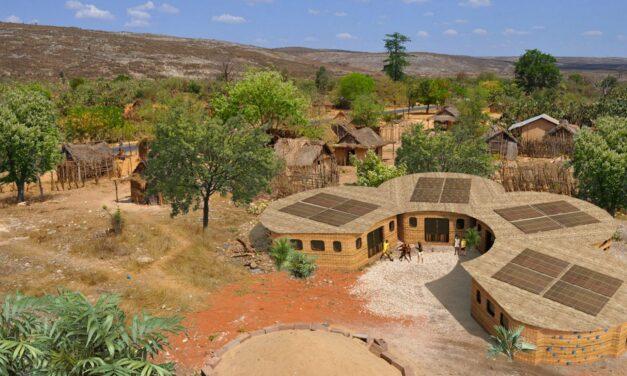 Prima școală din lume tipărită 3D, în Madagascar, de Studio Mortazavi
