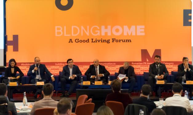 Building Home – International Good Living Forum, eveniment despre calitatea spațiilor în care locuim