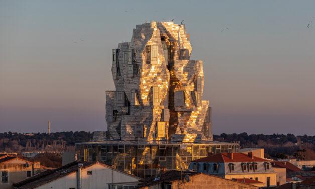 Turnul Luma Arles a lui Frank Gehry, aproape de inaugurare