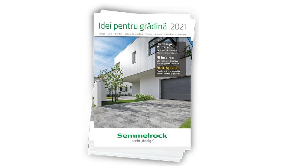 Semmelrock Stein+Design lansează catalogul IDEI PENTRU GRĂDINĂ 2021