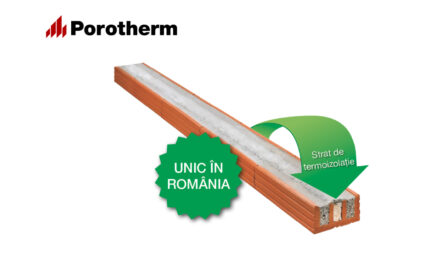 Construcții rapide, inovative și sustenabile cu noul buiandrug Porotherm A12 Termo