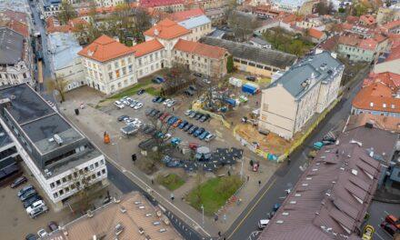 Concurs internațional de arhitectură: Transformarea în muzeu a complexului de clădiri al Palatului Jonusas Radvila, Lituania