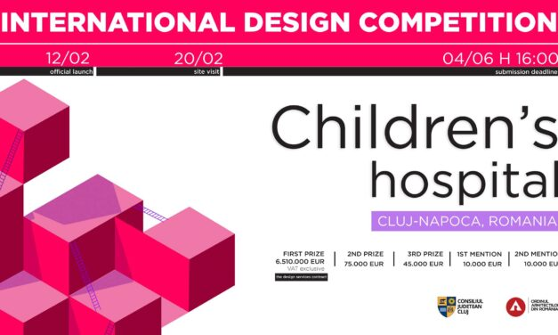Câștigătorii contractului de proiectare pentru Spitalul de Copii Cluj-Napoca