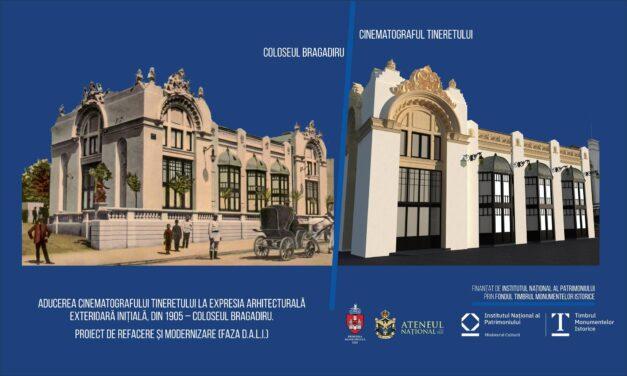 Coloseul Bragadiru din Iaşi va fi reconstruit în forma din perioada interbelică