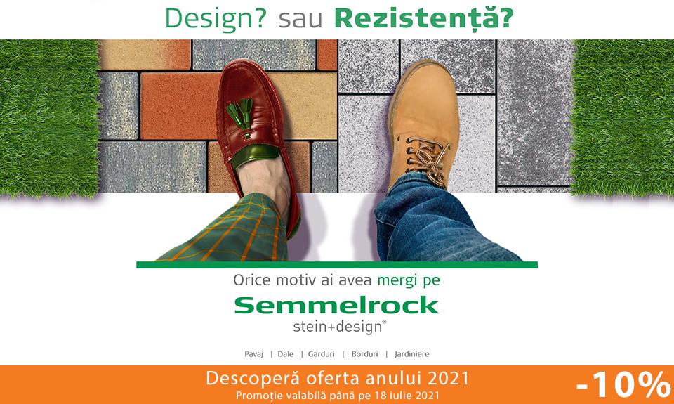 Design și rezistență cu dalele și pavajele Semmelrock. Acum cu -10% discount!