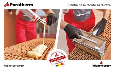 Zidării cu aspect îngrijit și performanțe termice îmbunătățite, cu Porotherm Profi