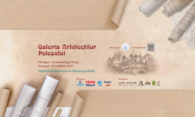 Expoziţie dedicată arhitecţilor care au dezvoltat Domeniul Regal Peleş, organizată în premieră la Vila Şipot