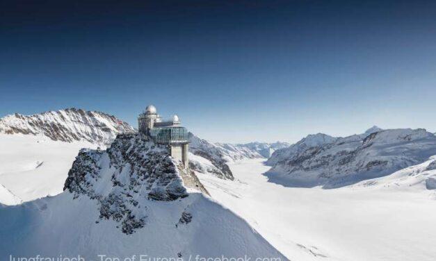 Gara în care nu regreţi dacă ai pierdut trenul: Jungfraujoch, Elveția