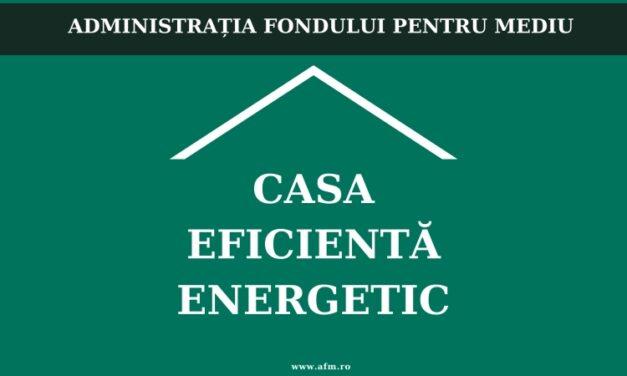 Instituţiile se pot înregistra în Programul Casa Eficientă Energetic pentru clădiri publice