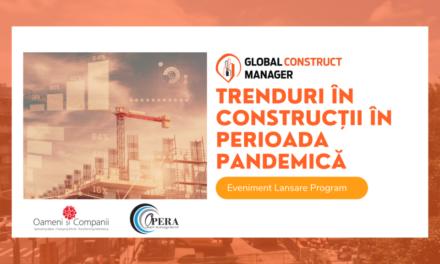 """""""Trenduri în construcții în perioada pandemică"""", tema primei întâlniri a comunității OSC de construcții"""