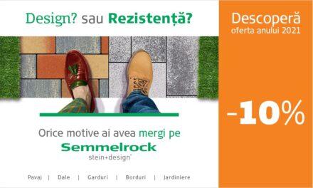 Descoperă oferta anului la dalele și pavajele Semmelrock!