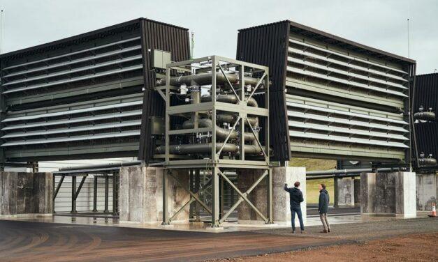 Orca, cea mai mare instalație de captare a dioxidului de carbon din aer, funcționează în Islanda