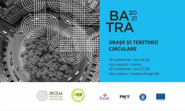 Orașe și teritorii circulare la BATRA 2021