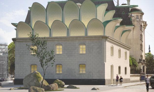 Ambasada Franței la Viena într-un proiect Art Nouveau diferit, de secol XXI