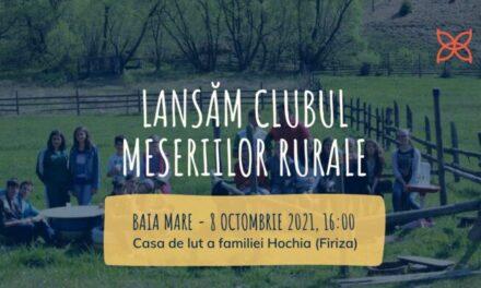 Clubul Meseriilor Rurale, un program adresat elevilor din mediul rural
