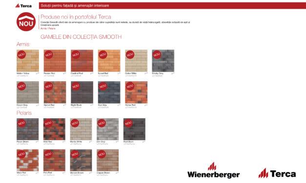 Wienerberger introduce pe piața din România o nouă colecție de placaj ceramic – Terca Smooth